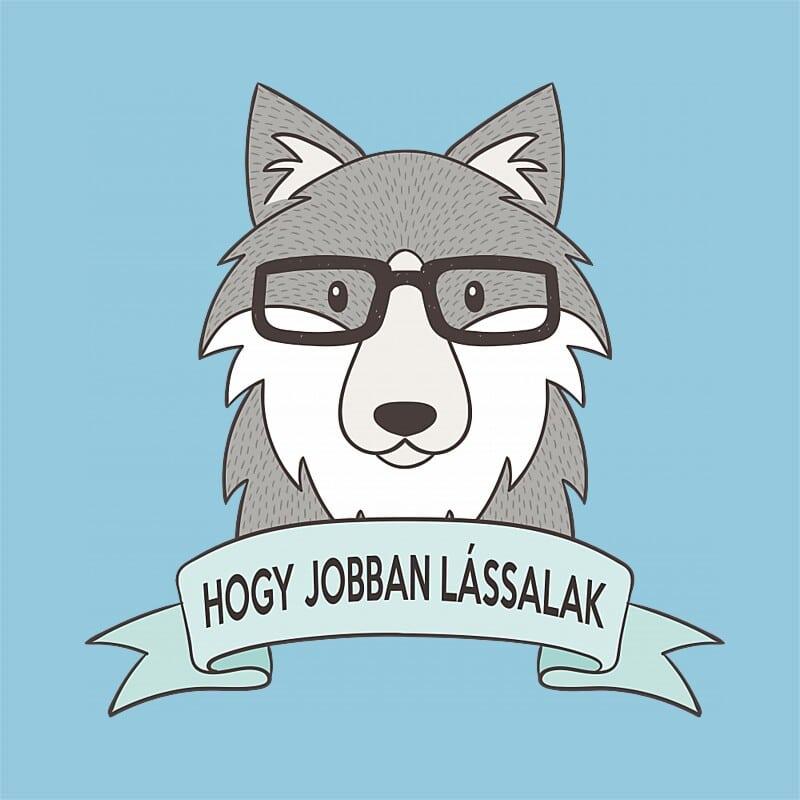 Hogy jobban lássalak Póló - Ha Wolf rajongó ezeket a pólókat tuti imádni fogod!