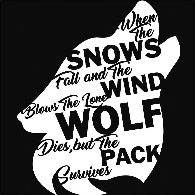 Lone wolf Póló - Ha Wolf rajongó ezeket a pólókat tuti imádni fogod!