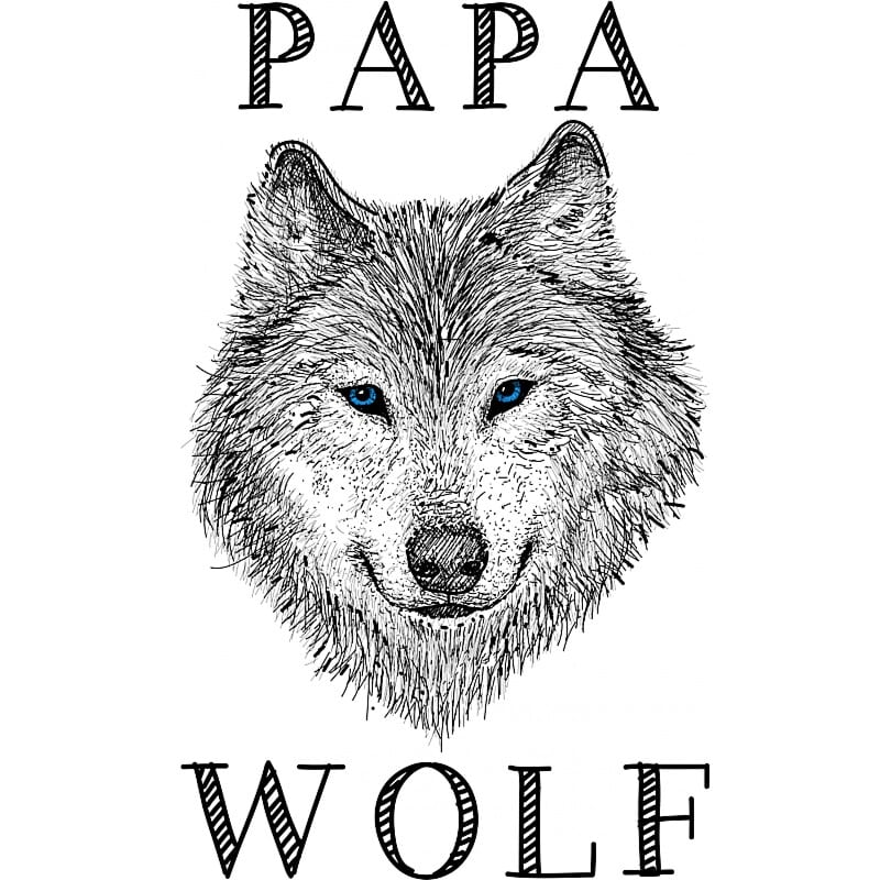 Papa wolf Póló - Ha Wolf rajongó ezeket a pólókat tuti imádni fogod!