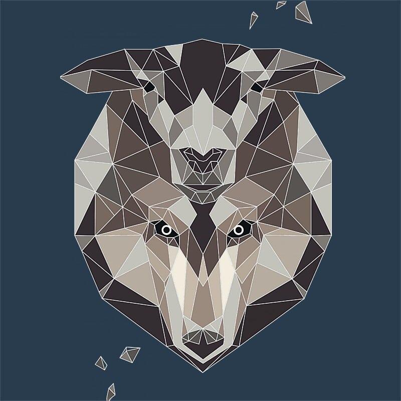 Polygon lamb disguise Póló - Ha Wolf rajongó ezeket a pólókat tuti imádni fogod!