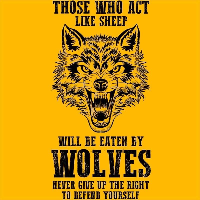 Right of wolves Póló - Ha Wolf rajongó ezeket a pólókat tuti imádni fogod!