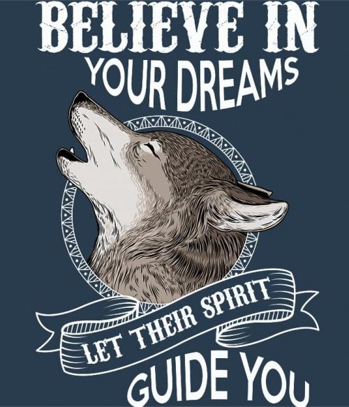 Spirit wolf Póló - Ha Wolf rajongó ezeket a pólókat tuti imádni fogod!