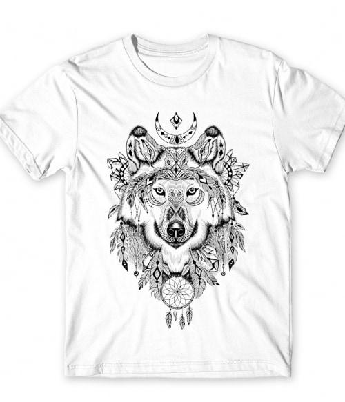 Wolf dream catcher Póló - Ha Wolf rajongó ezeket a pólókat tuti imádni fogod!