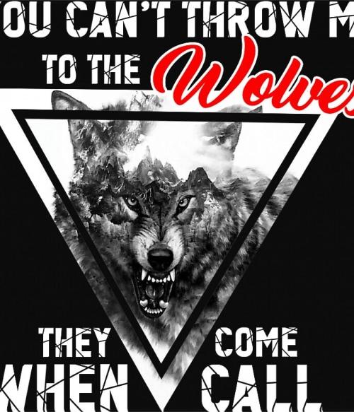 Wolve coming Póló - Ha Wolf rajongó ezeket a pólókat tuti imádni fogod!