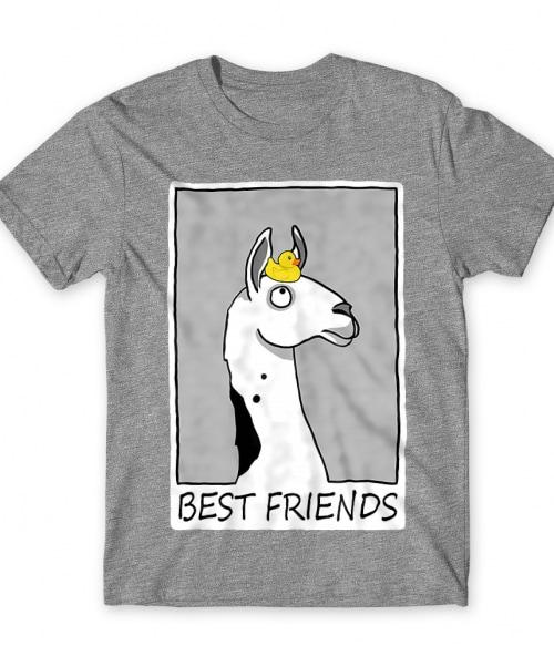 Best friends llama Póló - Ha Llama rajongó ezeket a pólókat tuti imádni fogod!