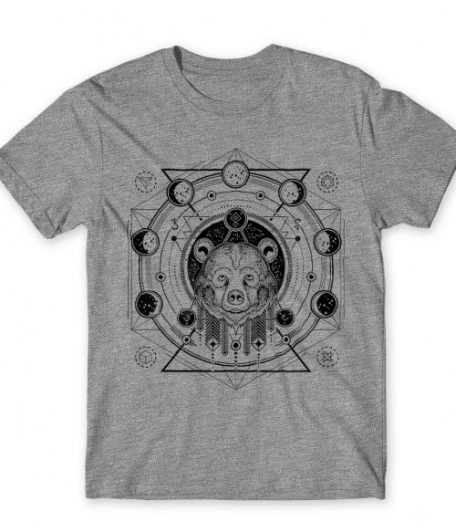 Geometric bear Póló - Ha Bear rajongó ezeket a pólókat tuti imádni fogod!