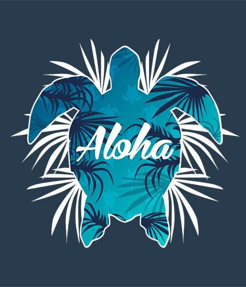 Aloha turtle Póló - Ha Turtle rajongó ezeket a pólókat tuti imádni fogod!