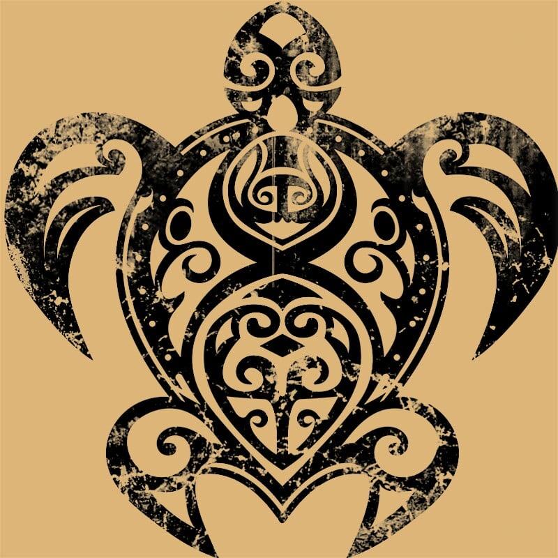 Maori turtle Póló - Ha Turtle rajongó ezeket a pólókat tuti imádni fogod!