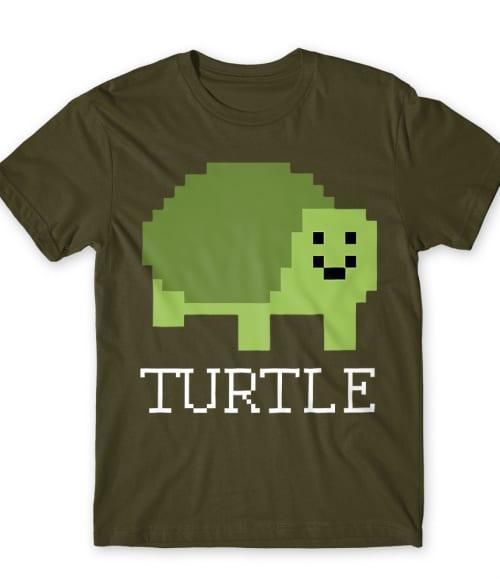 Pixel turtle Póló - Ha Turtle rajongó ezeket a pólókat tuti imádni fogod!
