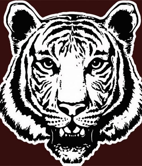 Tiger face Póló - Ha Tiger rajongó ezeket a pólókat tuti imádni fogod!
