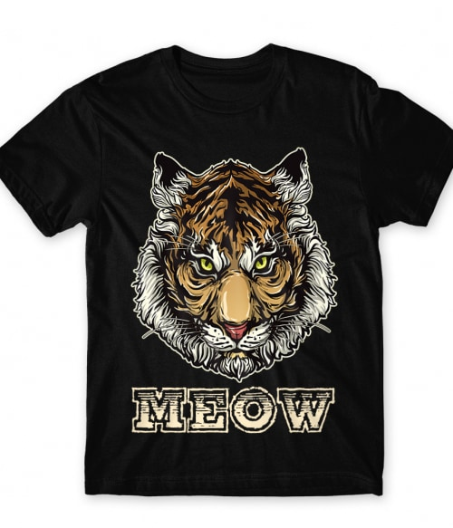 Tiger meow Póló - Ha Tiger rajongó ezeket a pólókat tuti imádni fogod!