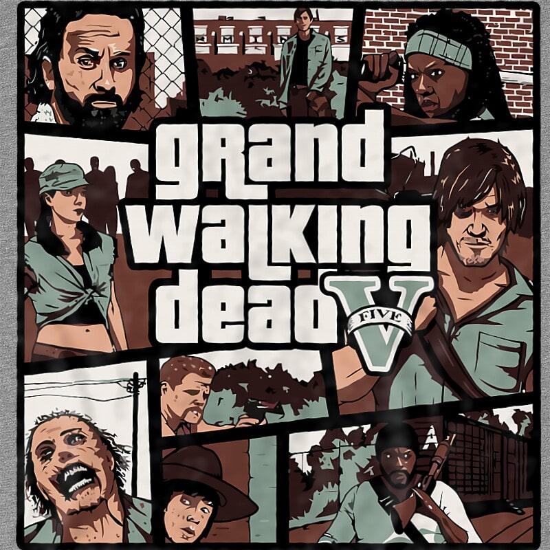 Grand Walking Dead Póló - Ha The Walking Dead rajongó ezeket a pólókat tuti imádni fogod!