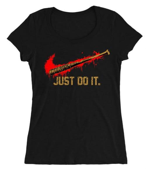 Lucille just do it Póló - Ha The Walking Dead rajongó ezeket a pólókat tuti imádni fogod!