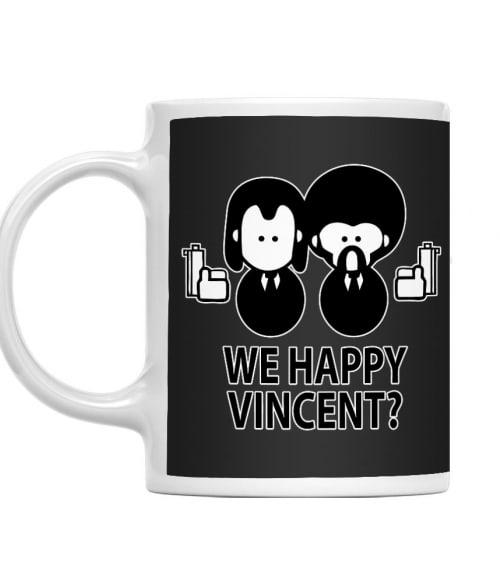 We happy Vincent Póló - Ha Pulp Fiction rajongó ezeket a pólókat tuti imádni fogod!