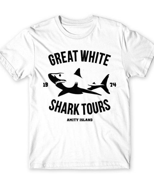 Great white shark Póló - Ha Shark rajongó ezeket a pólókat tuti imádni fogod!