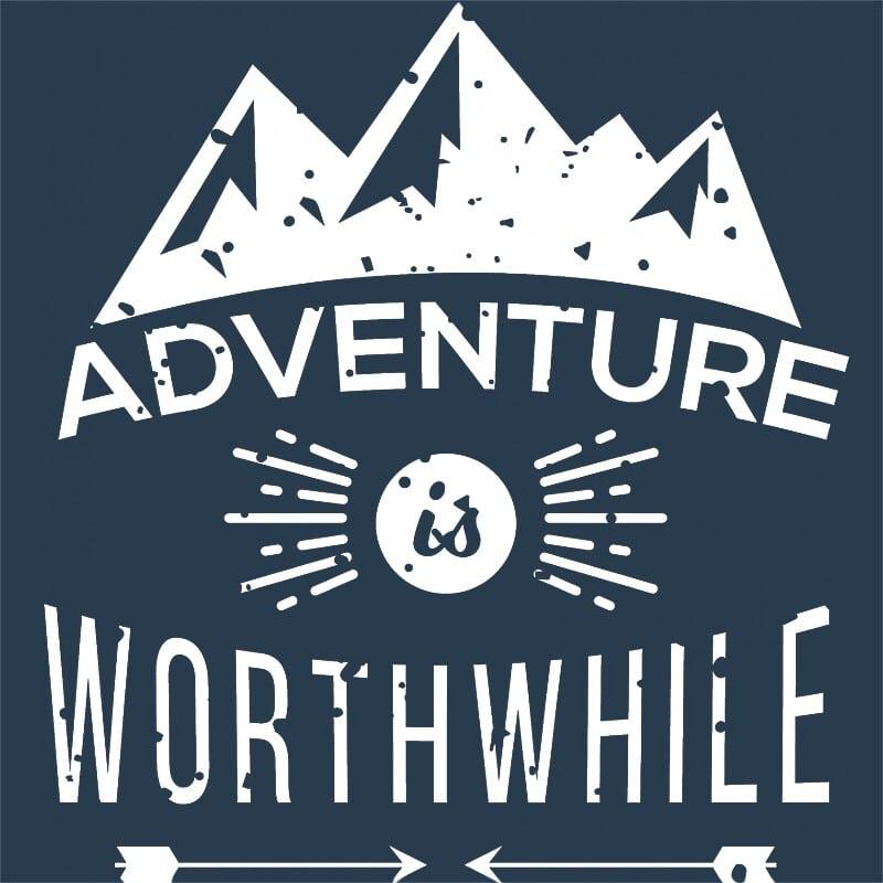 Adventure is worthwile Póló - Ha Hiking rajongó ezeket a pólókat tuti imádni fogod!