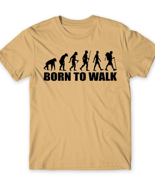 Born to walk Póló - Ha Hiking rajongó ezeket a pólókat tuti imádni fogod!