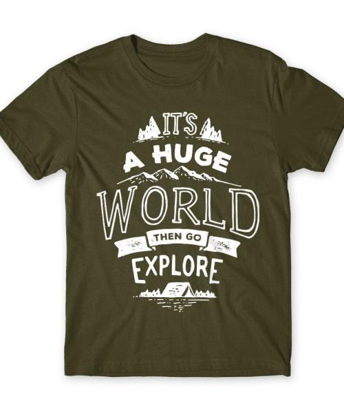 Go to explore Póló - Ha Hiking rajongó ezeket a pólókat tuti imádni fogod!