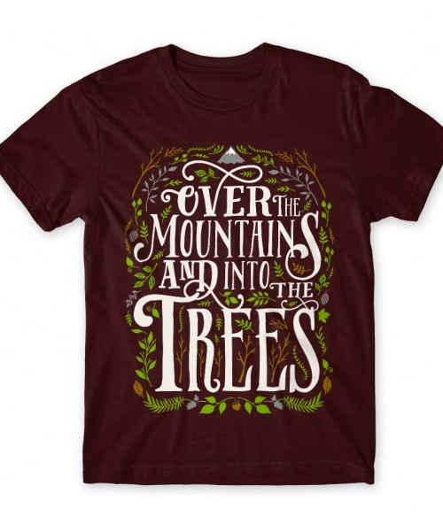 Over the mountains Póló - Ha Hiking rajongó ezeket a pólókat tuti imádni fogod!