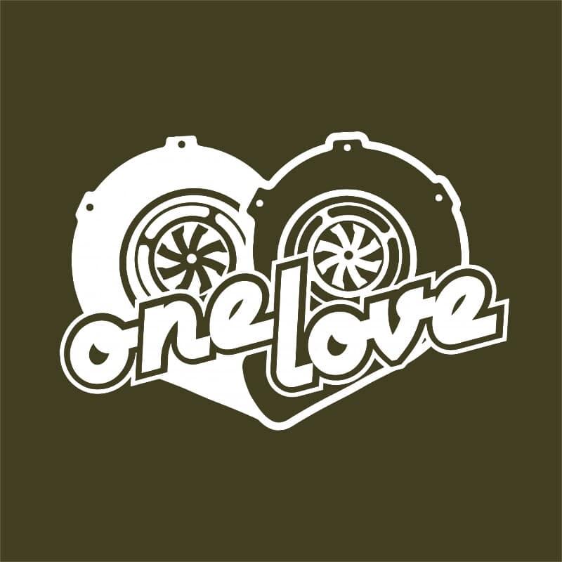 One Love Turbo Póló - Ha Driving rajongó ezeket a pólókat tuti imádni fogod!