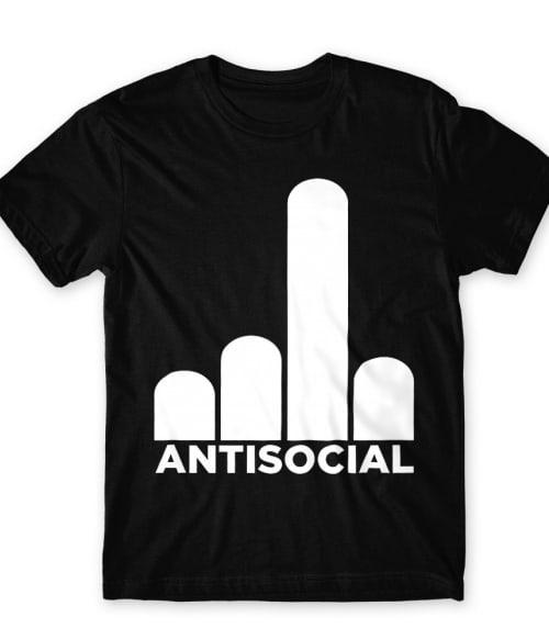 Antisocial fuck you Póló - Ha Antisocial rajongó ezeket a pólókat tuti imádni fogod!