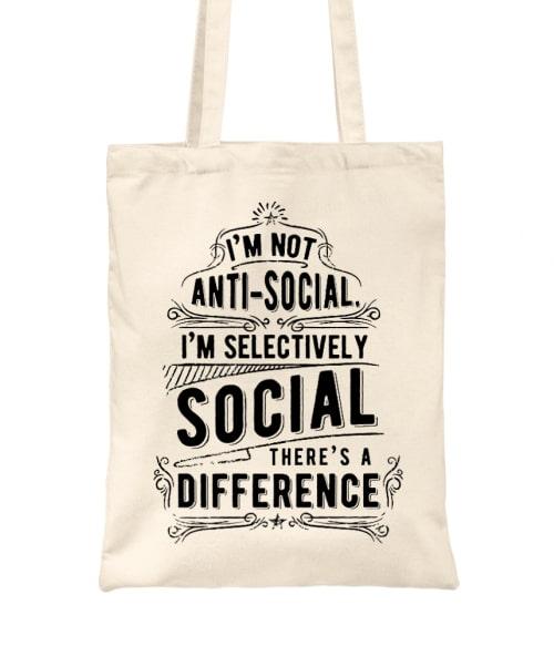 Selectively social Póló - Ha Antisocial rajongó ezeket a pólókat tuti imádni fogod!
