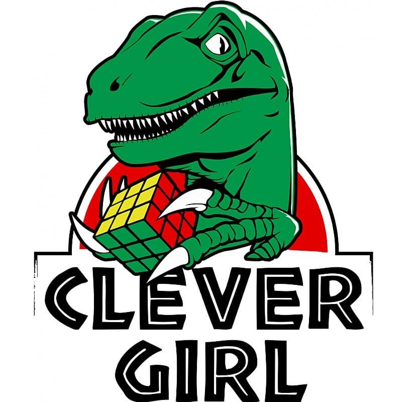 Clever girl Póló - Ha Jurassic Park rajongó ezeket a pólókat tuti imádni fogod!