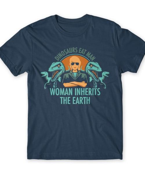 Dinosaurs eat man Póló - Ha Jurassic Park rajongó ezeket a pólókat tuti imádni fogod!