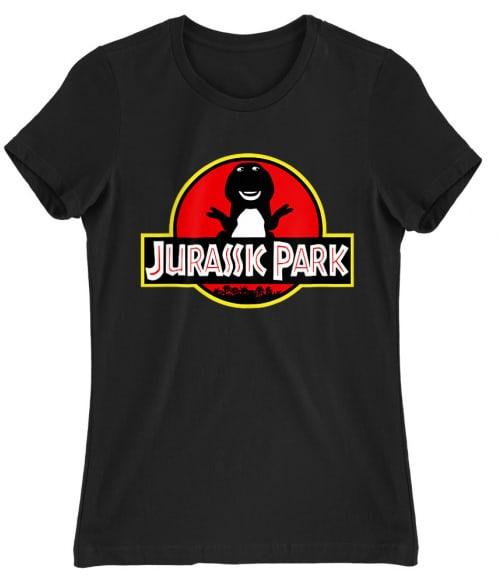 Jurassic Barnie Póló - Ha Jurassic Park rajongó ezeket a pólókat tuti imádni fogod!