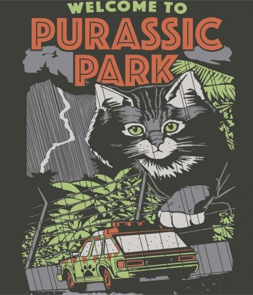 Purassic Park Póló - Ha Jurassic Park rajongó ezeket a pólókat tuti imádni fogod!