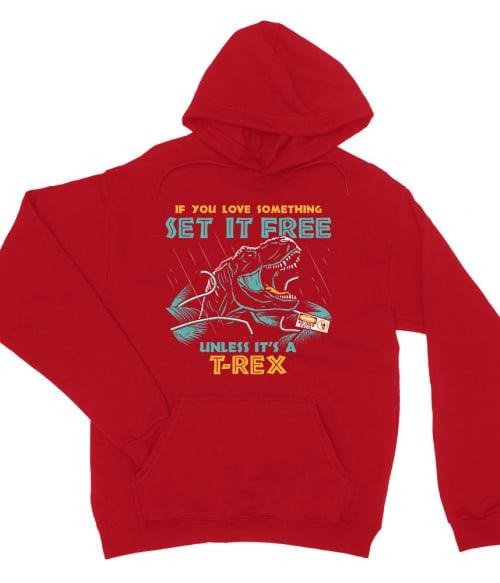 Set it free Póló - Ha Jurassic Park rajongó ezeket a pólókat tuti imádni fogod!