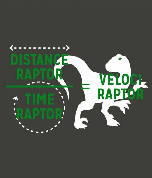 Velociraptor Póló - Ha Jurassic Park rajongó ezeket a pólókat tuti imádni fogod!