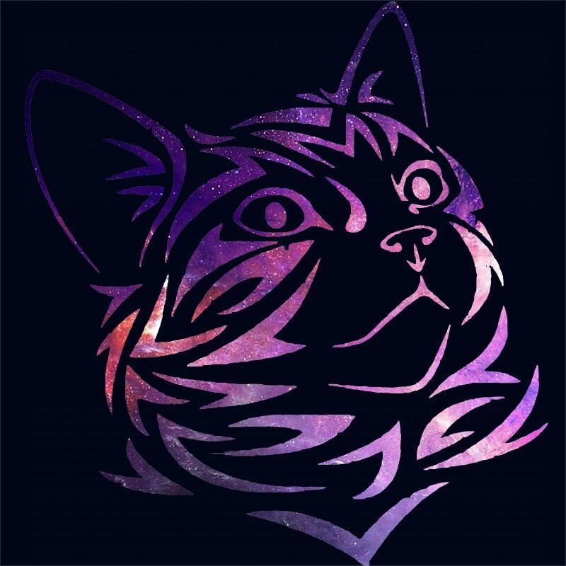 Galaxy cat Póló - Ha Cat rajongó ezeket a pólókat tuti imádni fogod!