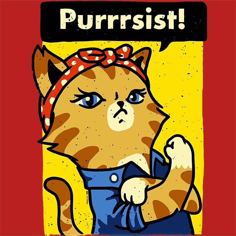 Purrrsist Póló - Ha Cat rajongó ezeket a pólókat tuti imádni fogod!