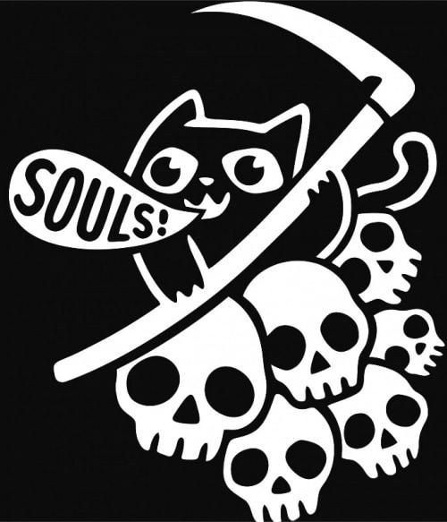 Souls cat Póló - Ha Cat rajongó ezeket a pólókat tuti imádni fogod!