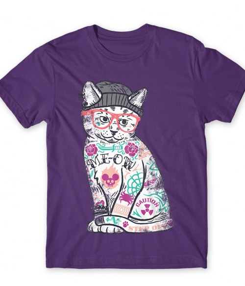 Tattoo cat Póló - Ha Cat rajongó ezeket a pólókat tuti imádni fogod!