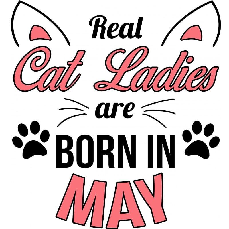 Real cat ladies may Póló - Ha Birthday rajongó ezeket a pólókat tuti imádni fogod!