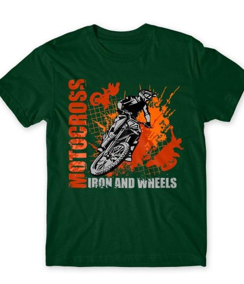 Iron and Wheels Póló - Ha Motorcycle rajongó ezeket a pólókat tuti imádni fogod!