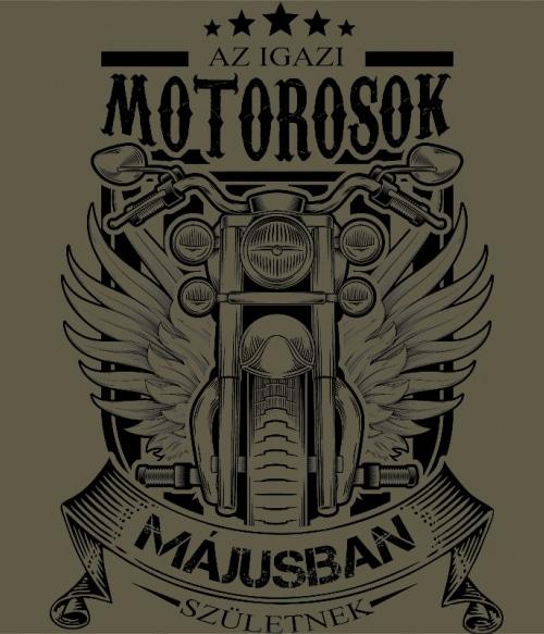 Igazi Motoros Május Póló - Ha Birthday rajongó ezeket a pólókat tuti imádni fogod!