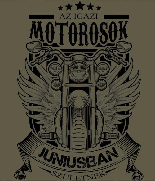 Igazi Motoros Június Póló - Ha Birthday rajongó ezeket a pólókat tuti imádni fogod!