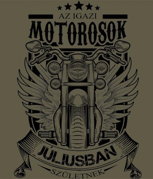 Igazi Motoros Július Póló - Ha Birthday rajongó ezeket a pólókat tuti imádni fogod!