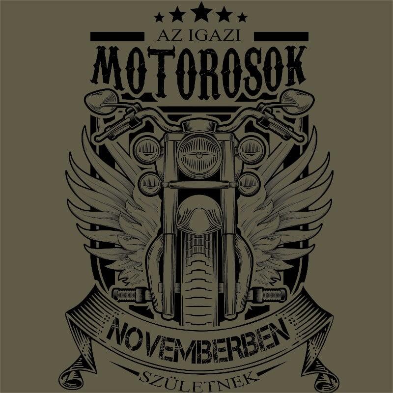 Igazi Motoros November Póló - Ha Birthday rajongó ezeket a pólókat tuti imádni fogod!