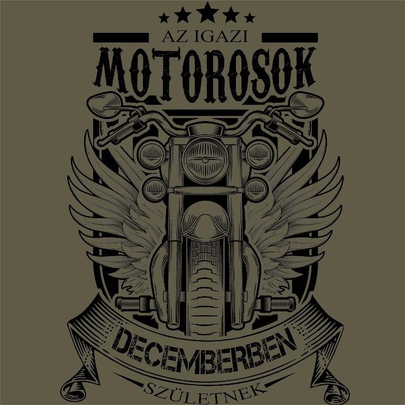 Igazi Motoros December Póló - Ha Birthday rajongó ezeket a pólókat tuti imádni fogod!