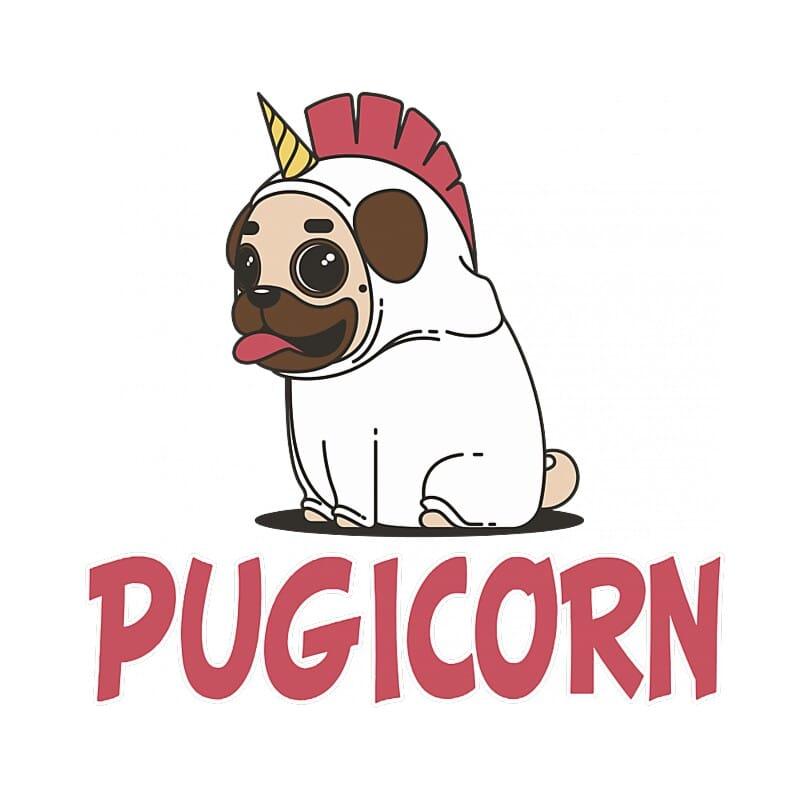 Pugicorn Póló - Ha Dog rajongó ezeket a pólókat tuti imádni fogod!
