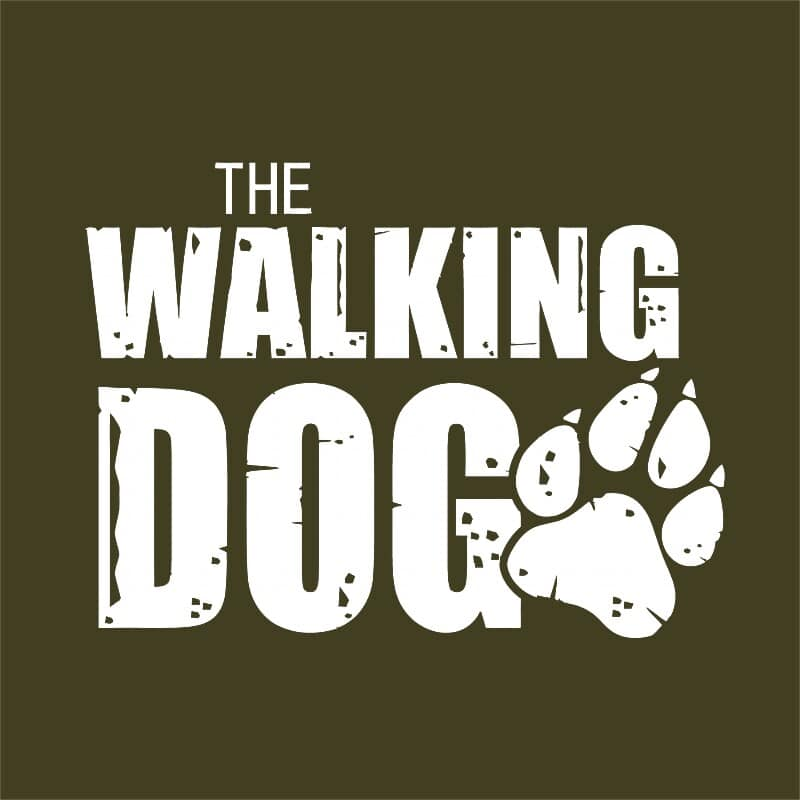 The walking dog logo Póló - Ha Dog rajongó ezeket a pólókat tuti imádni fogod!