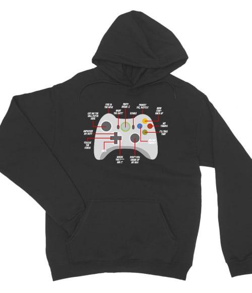 Controller Póló - Ha Gamer rajongó ezeket a pólókat tuti imádni fogod!