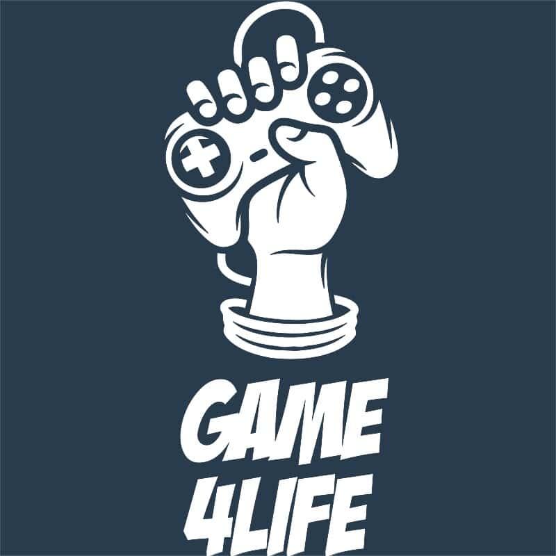 Game for life Póló - Ha Gamer rajongó ezeket a pólókat tuti imádni fogod!