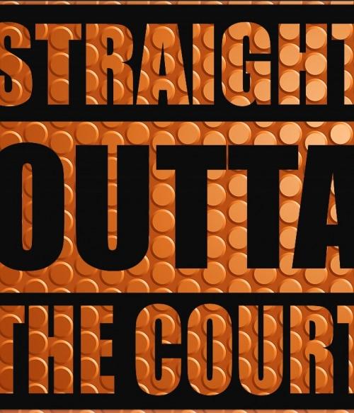 Straight Outta The Court Póló - Ha Basketball rajongó ezeket a pólókat tuti imádni fogod!