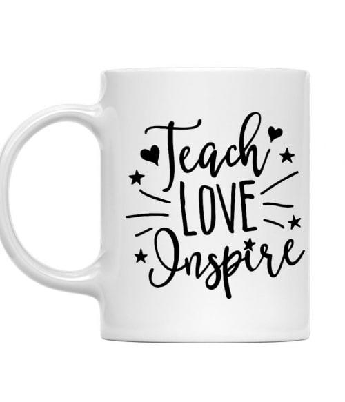 Inspire Póló - Ha Teacher rajongó ezeket a pólókat tuti imádni fogod!