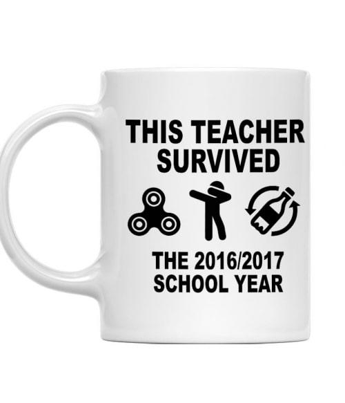 This teacher survived Póló - Ha Teacher rajongó ezeket a pólókat tuti imádni fogod!